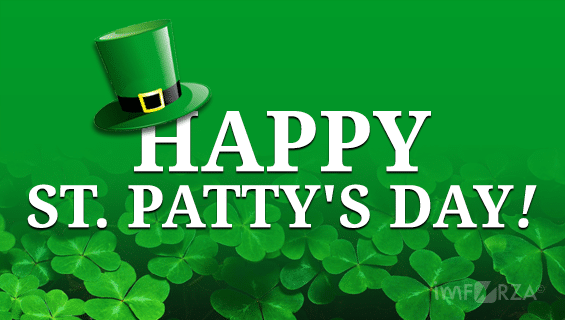 Happy St Patty's Day!